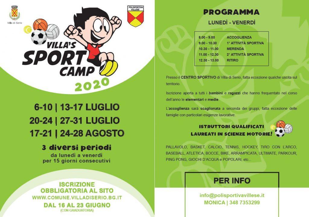 Villa's Sport Camp